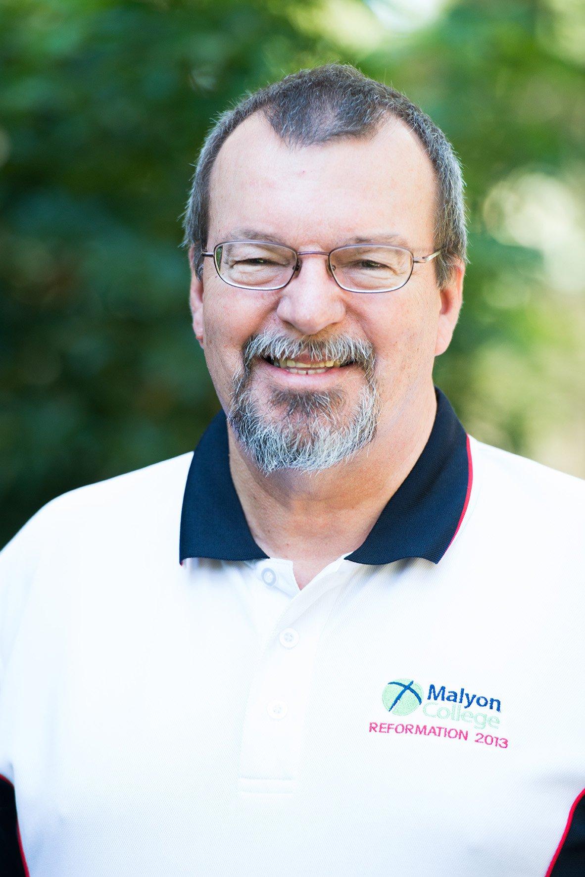 Rev Dr D Morcom - Malyon College